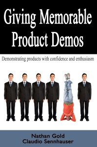 "Praise for ""Giving Memorable Product Demos"""