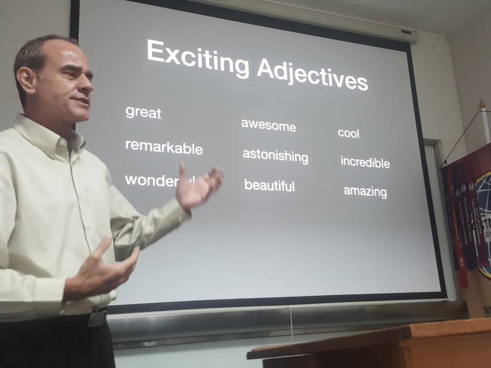 Claudio Teaching Presentation Skills