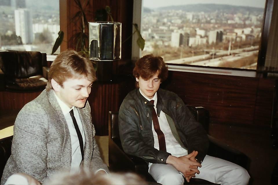 Claudio Sennhauser in 1984