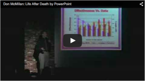 Don McMillan: How to NOT use PowerPoint