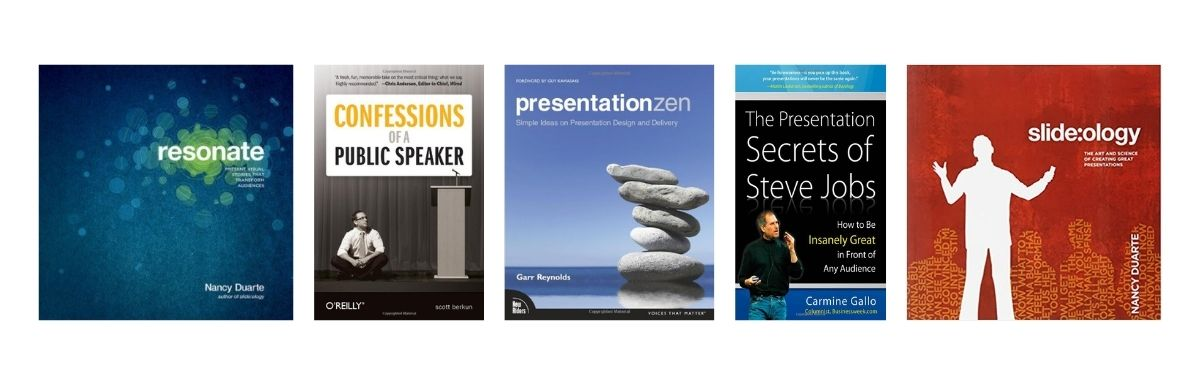 Five Must Read Books for Presenters