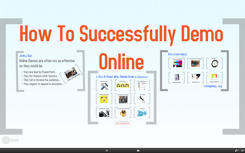 Prezi: Successfully Demo Online